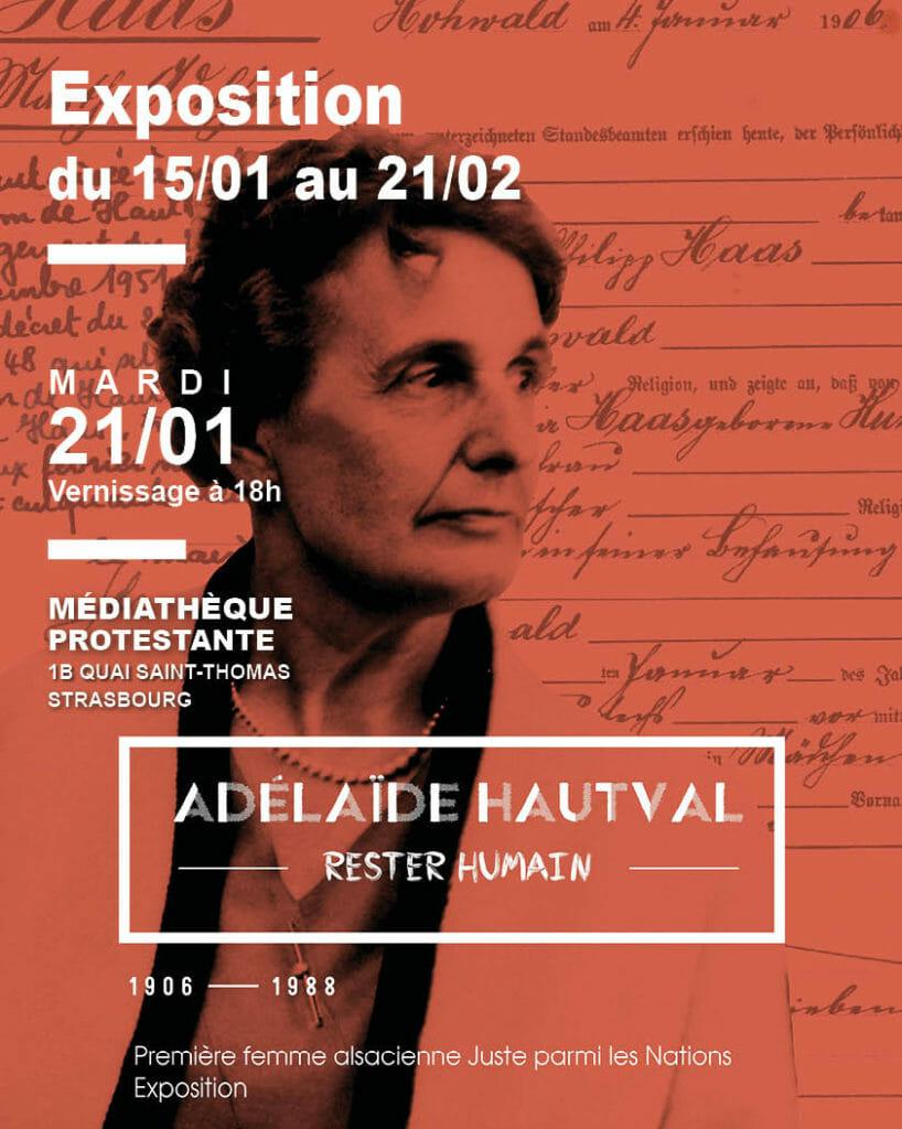 Exposition Strasbourg Adelaide Hautval