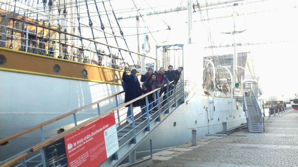 Projet solidaire migrants Dunkerque Calais