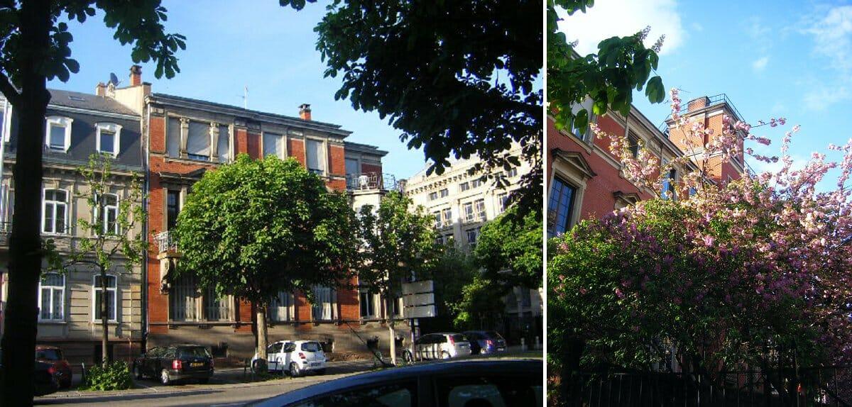 Foyer du Sept chambres et studios étudiants Strasbourg