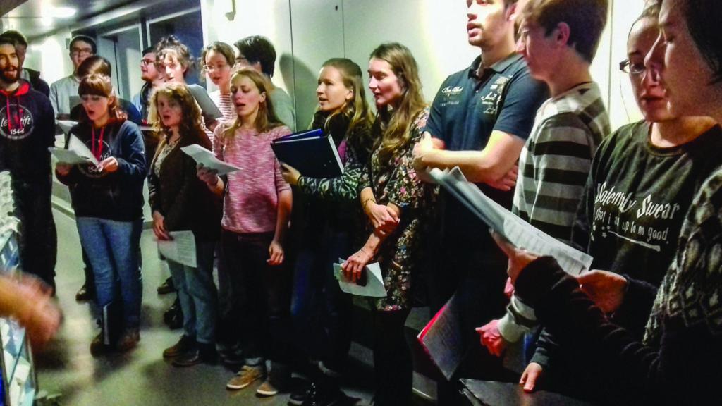 Chants de Noël dans les hôpitaux